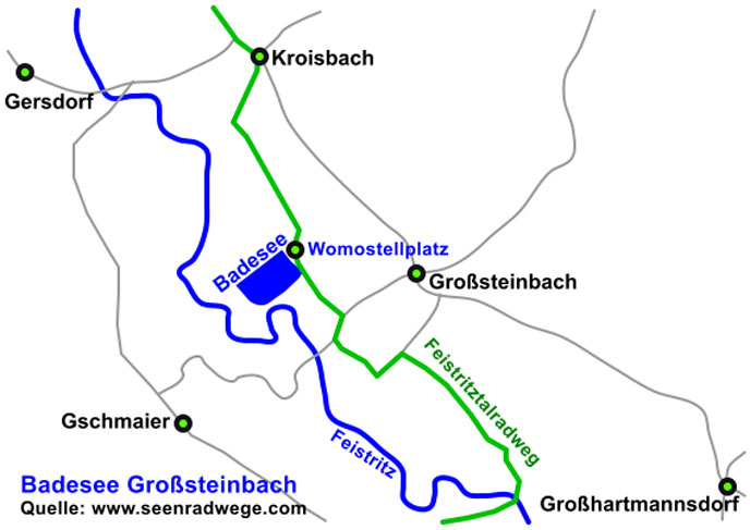 Badesee Grosssteinbach